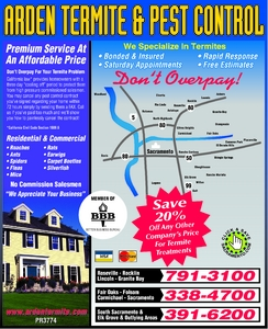 Sacramento Pest Control Yellow Pages