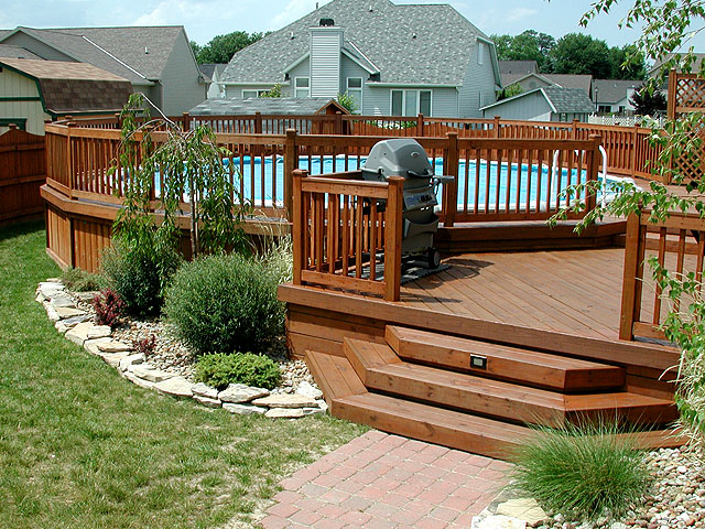 wood decks fences